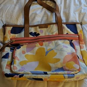 Fossil flower bag